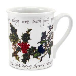 Portmeirion The Holly and The Ivy Mug Portmeirion  - Size: 9cm H X 11cm W X 8cm D