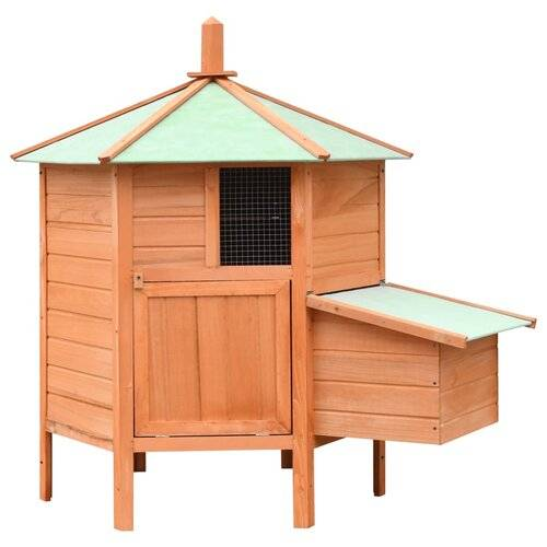 Archie & Oscar Gerard Chicken Coop with Roosting Bar Archie & Oscar  - Size: Mid-Size (between 3 and 6 ft)