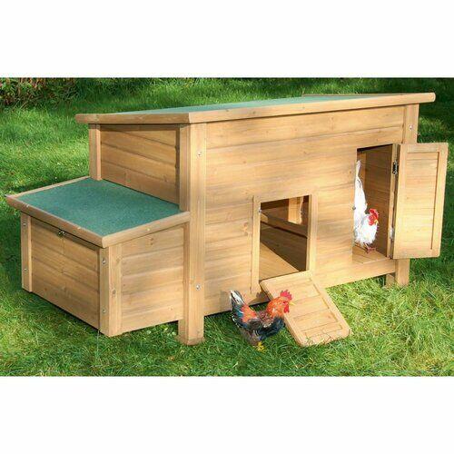 Archie & Oscar Bilst Chicken Coop/House Archie & Oscar  - Size: 80cm H X 74cm W X 146cm D