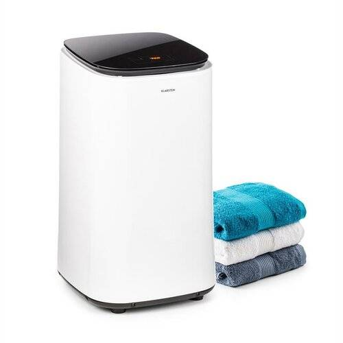 Klarstein Zap Dry 50kg Electric Dryer Klarstein Colour: White/Black  - Size: 75cm H X 44cm W X 39cm D