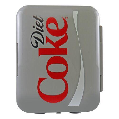 KoolatronEurope Coca Cola Diet Portable 4L Mini Fridge KoolatronEurope  - Size: 33cm H X 36cm W X 23cm D