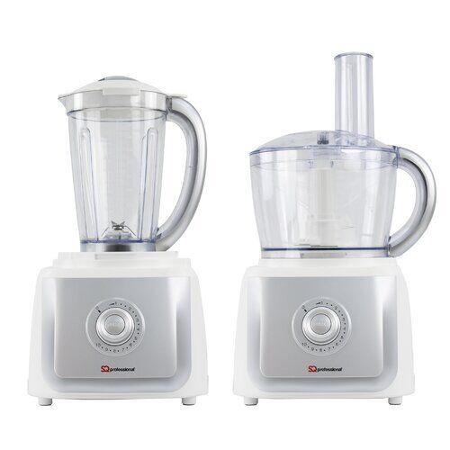 SQ Professional 2.5L Blitz 2In1 Electric Food Processor SQ Professional Colour: White  - Size: