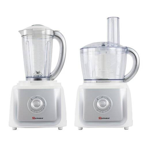 SQ Professional 2.5L Blitz 2In1 Electric Food Processor SQ Professional Colour: White  - Size: Extra Large