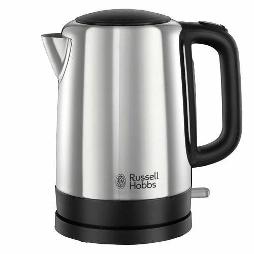 Russell Hobbs Canterbury 1.7L Stainless Steel Kettle Russell Hobbs Colour: Polished Stainless Steel  - Polished Stainless Steel - Size: 23cm H X 14cm W X 22cm D