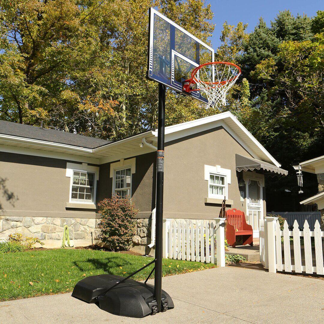 Lifetime Adjustable Portable Basketball Net  - Size: 122.0 H x 152.4 W cm