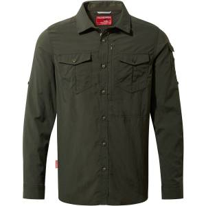 Craghoppers NosiLife Adventure II Long Sleeved Shirt - Extra Large; Male