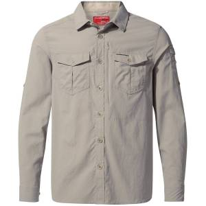 Craghoppers NosiLife Adventure II Long Sleeved Shirt - Small   Shirts; Male