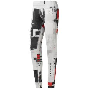 Reebok Women's RC Lux Tight - Extra Large White   Tights