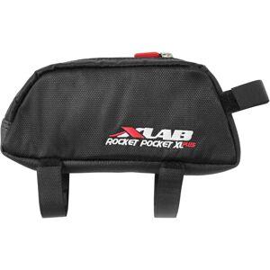 XLAB Pocket Rocket XL Plus Tube Bag - One Size Black   Top Tube Bags