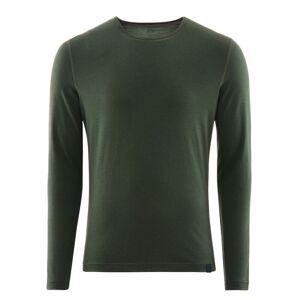 Fohn Merino Long Sleeve Baselayer (200) - X Small Green   Base Layers; Male
