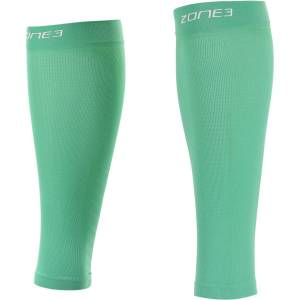 Zone3 Calf Guards - Extra Large Mint   Compression Leg Sleeves; Unisex
