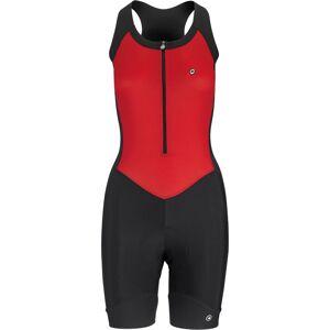 Assos UMA GT NS Body Suit - XL National Red   Skin Suits