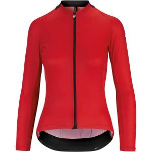 Assos UMA GT Summer LS Jersey - XL National Red   Jerseys