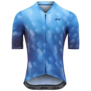 dhb Aeron Speed Short Sleeve Jersey - Bokeh - Extra Extra Large Blue