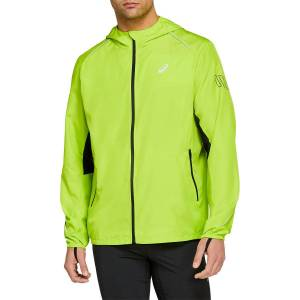 Asics Lite Show Jacket - Xtra Large LIME ZEST   Jackets; Male