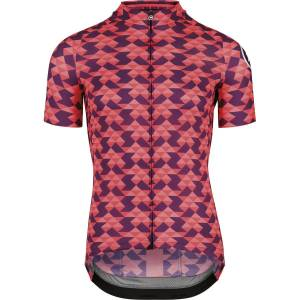 Assos Fastlane Diamond Crazy Jersey - XL Solitaire Red   Jerseys