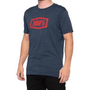 100% Essential T-Shirt - XL Blue   T-Shirts; Male