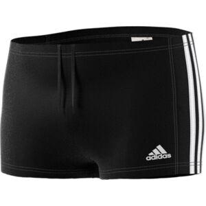 "adidas Essence Core 3 Stripe Boxer - 24"" Black/White   Swimming Shorts; Male"