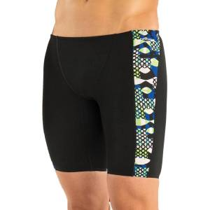 """Dolfin Reliance Veyron: Spliced Jammer - 22"""" Blue/Green   Jammers; Male"""