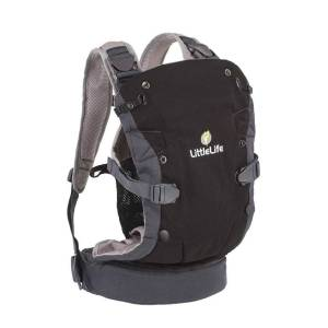 LittleLife Acorn Baby Carrier - One Size Black   Child Carriers; Unisex