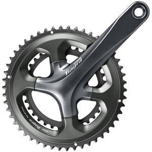 Shimano Tiagra 4700 10 Speed Chainset - 172.5 52.36 172.5mm Grey