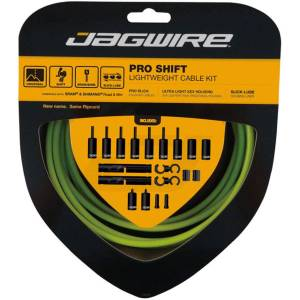 Jagwire Pro Shift Kit - n/a Organic Green   Gear Cables