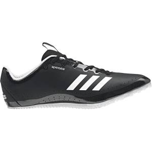 adidas Sprintstar Shoes - UK 12.5 Black/White   Track and Field Shoes