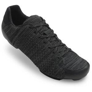 Giro Republic R Knit Road Shoes - EU 45 Black/Charcoal H 20; Unisex