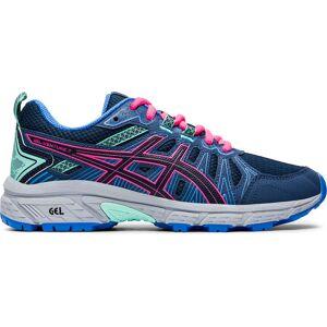 Asics Gel- Venture 7 GS Running Shoes - UK 5.5 PEACOAT/HOT PINK