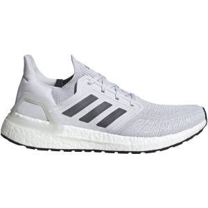 adidas Ultraboost 20 Running Shoes - UK 12 Grey/Grey / White