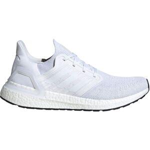 adidas Ultraboost 20 Running Shoes - UK 12 White/Grey / Black
