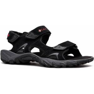 "Columbia Santiamâ""¢ 3 Strap Sandals - UK 7/ US 8 Black/Mountain Red; Male"