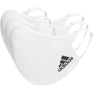adidas Face Cover - Medium/Large White   Anti Pollution Masks; Unisex