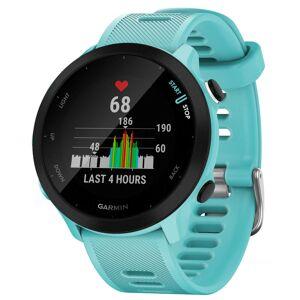 Garmin Forerunner 55 GPS Watch - One Size Aqua   Watches; Unisex