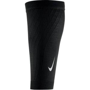 Nike Zoned Support Calf Sleeves - Small Black/Silver; Unisex
