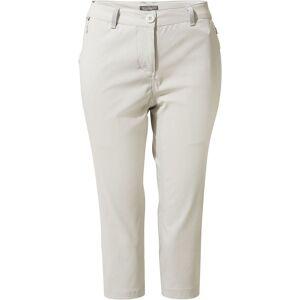 Craghoppers Women's Kiwi Pro II Crop - UK 20 Dove Grey   Trousers