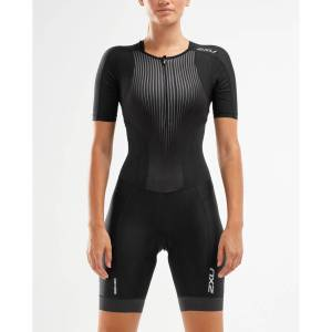 2XU Womens Perform Full Zip Sleeved Trisuit - Extra Large   Tri Suits; Female
