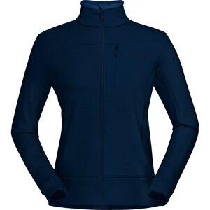 Norrøna Women's falketind warmwool2 Stretch Zip Jacket - Extra Large; Female