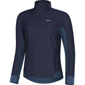 Gore Wear Women's Partial Gore Windstopper Shirt - Xtra Large Navy; Female