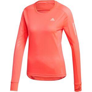 adidas Women's OTR Long Sleeve Tee - Extra Large signal pink