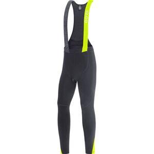 Gore Wear C5 Thermo Bib Tights+ - L Black/Neon Yellow      Bib Tights; Male