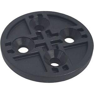 Bar Fly 4mm Spacer - 4mm Black   Camera Mounts; Unisex