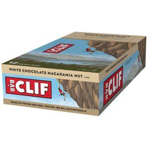 Clif Bar Energy Bar (12 x 68g) - . 12 x 68g White Choc Macadamia; Unisex