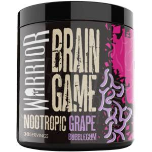 Warrior Brain Game Nootropic - 360G Grape Bubblegum   Vitamin Powders; Unisex