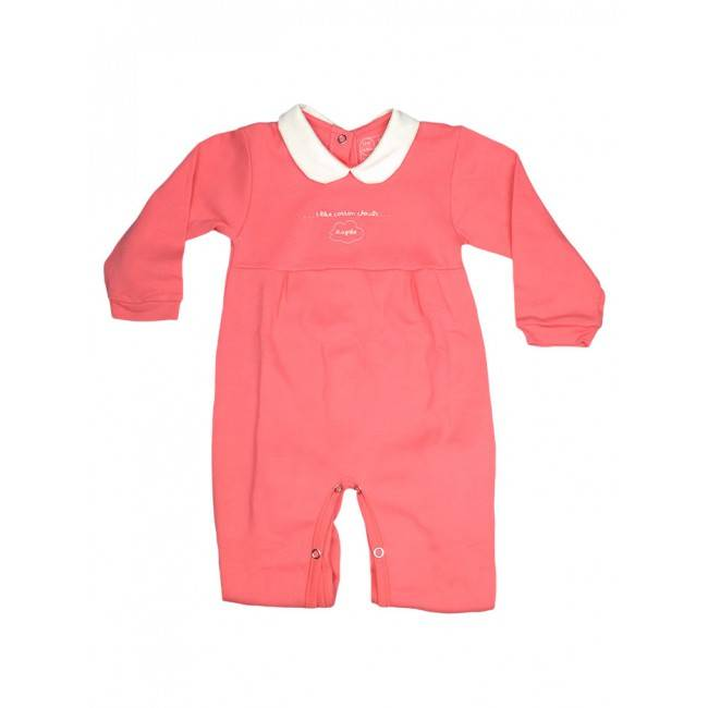 RAPIFE Jumpsuit cotton baby girl newborn Rapife coral 12 m