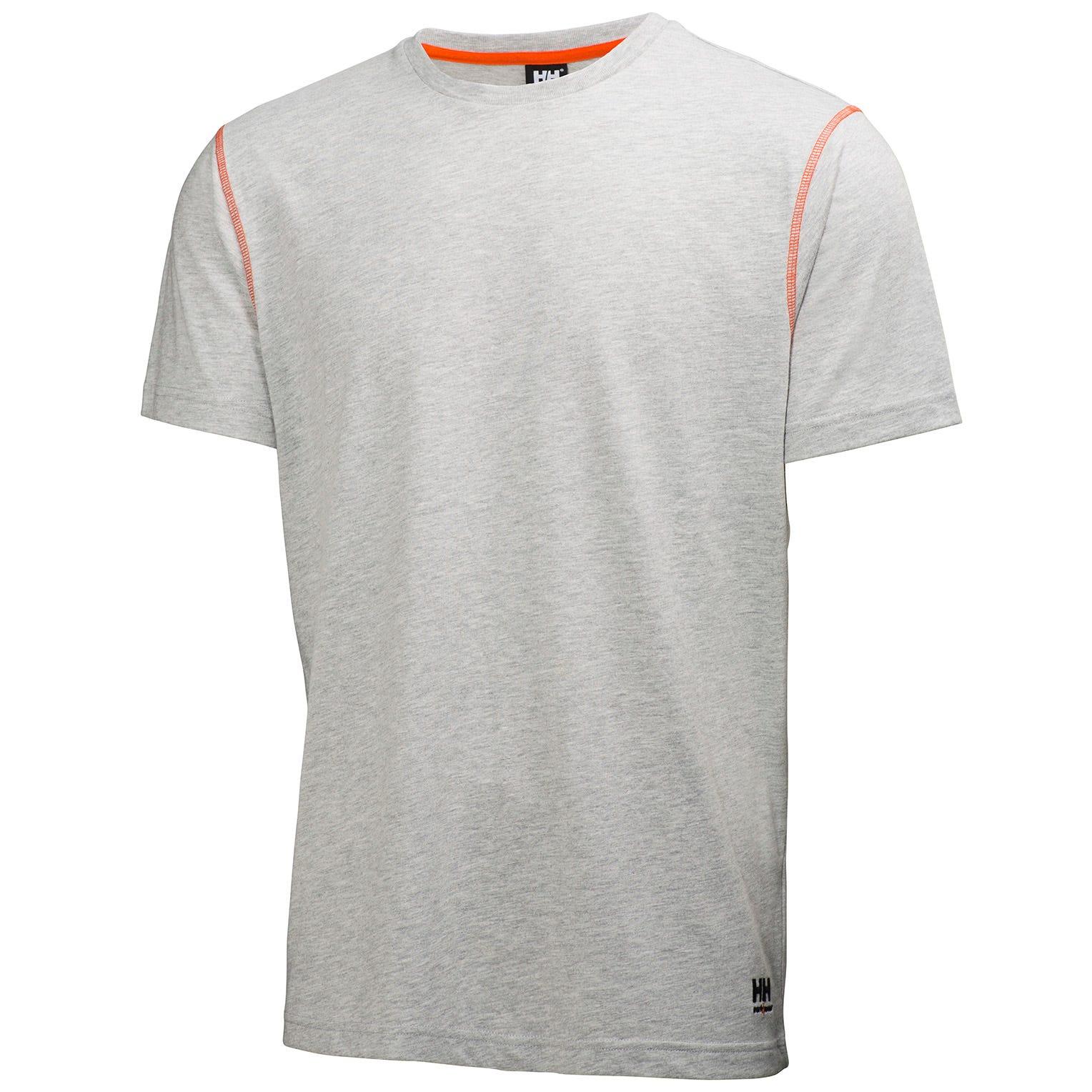 HH Workwear Workwear Oxford Lightweight Work T-shirt Grey S