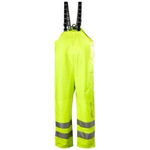 HH Workwear Workwear Alta Hi Vis Waterproof Rain Bib Trousers Yellow S