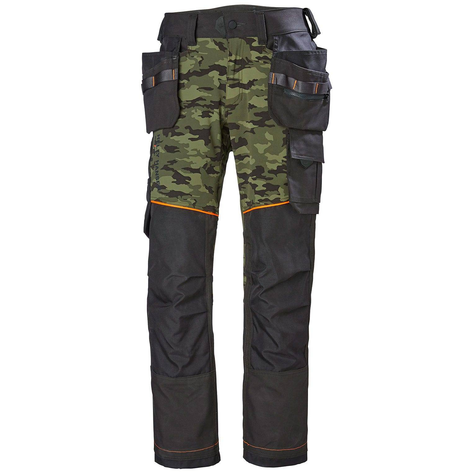 HH Workwear Work Chelsea Evolution Construction Pant C52 Green