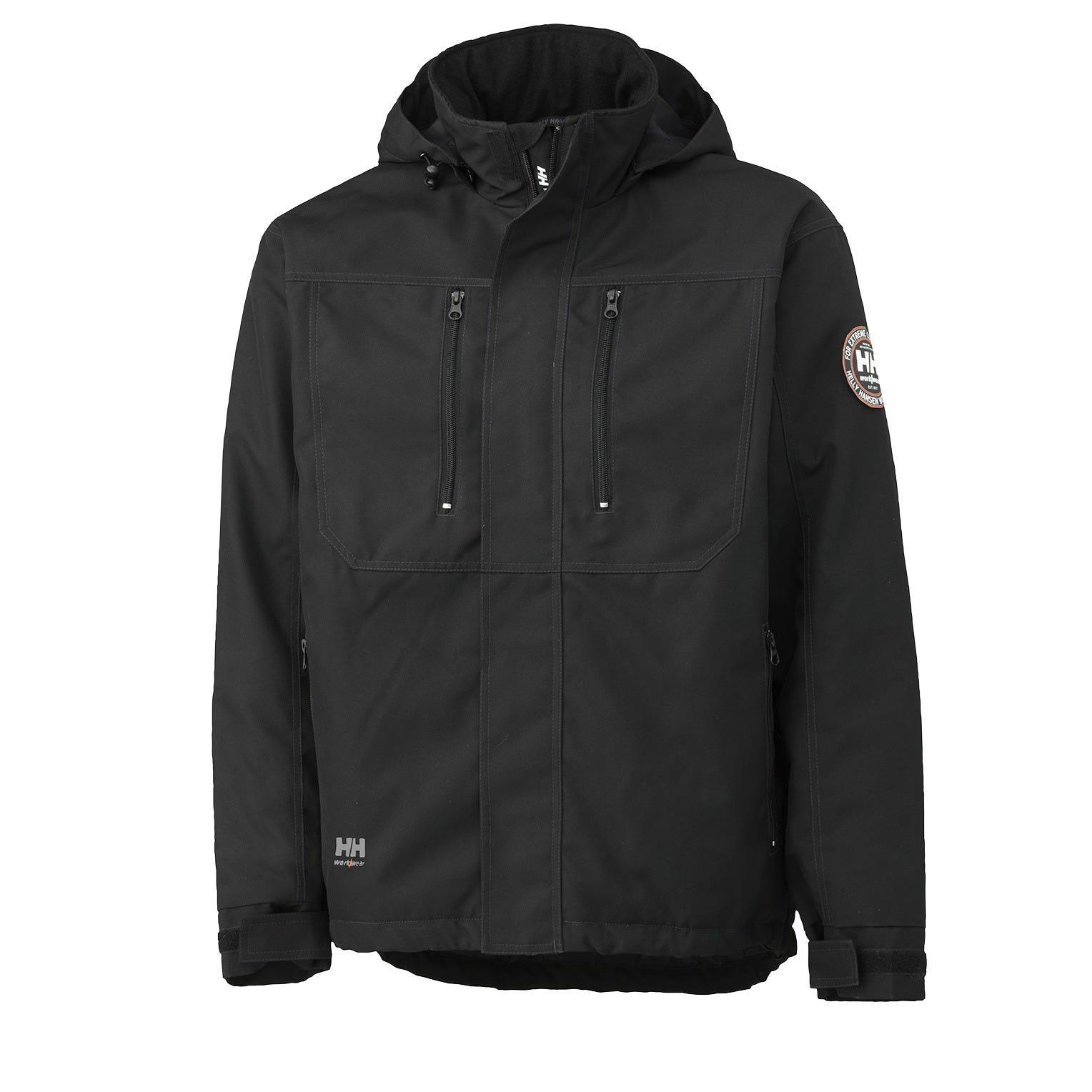 HH Workwear Workwear Berg Insulated Winter Jacket Black L