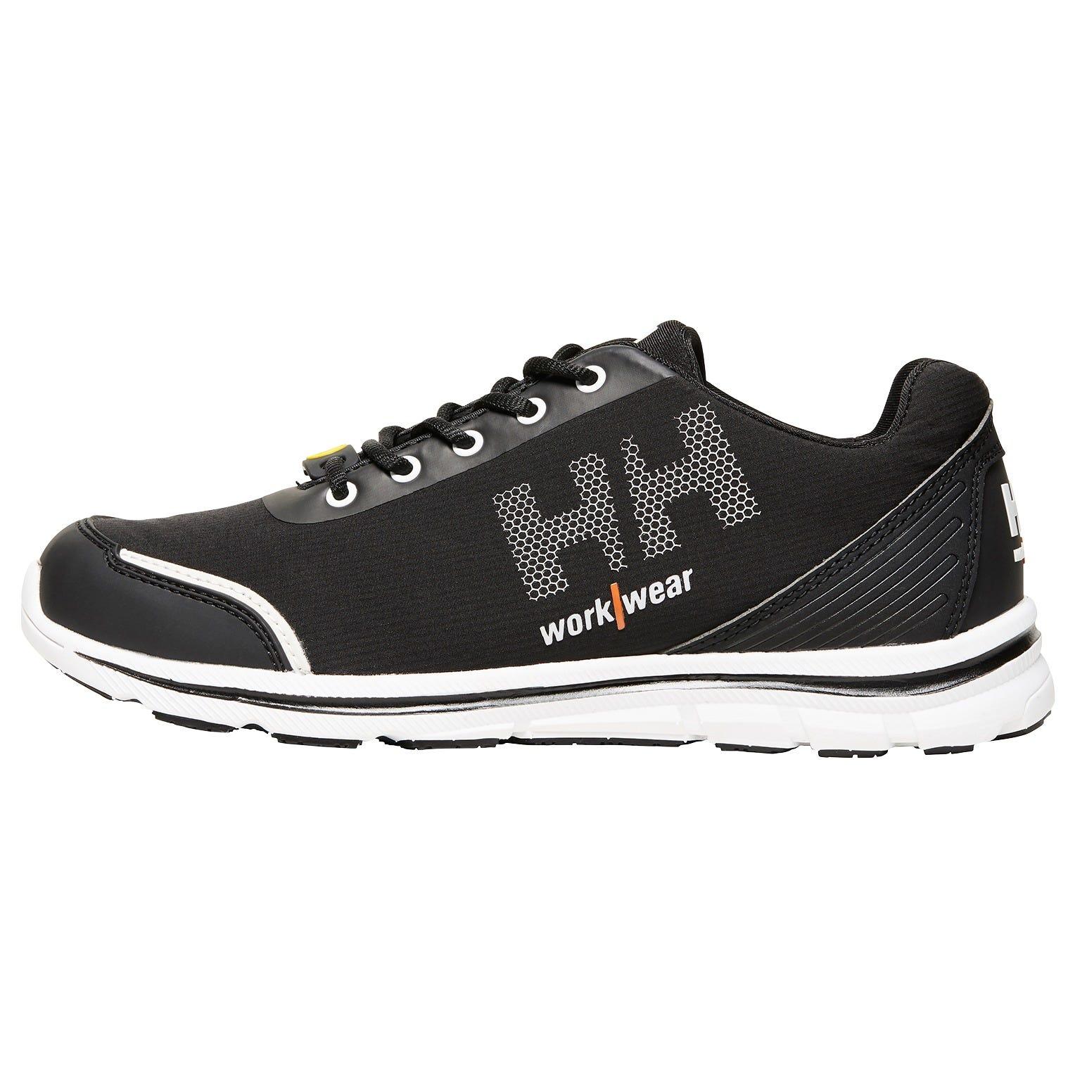 HH Workwear Workwear Oslo Slip Resistant Soft Toe O1 Safety Shoes Black 37
